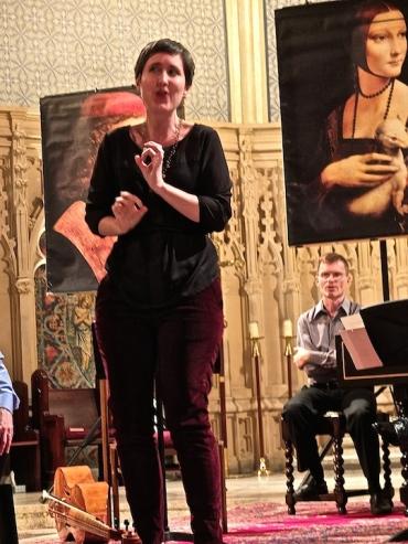 MEMF 2014 Toronto Consort Katherine Hill soprano and viola da gamba