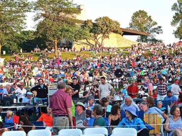 Opera in the Park 2014 crowd