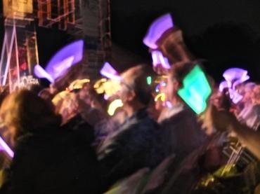 Opera in the Park 2014 light sticks