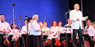 Opera in the Park 2014 MSO and John DeMain