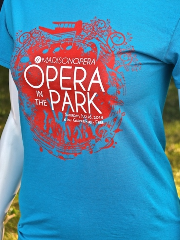 Opera in the Park 2014 new T-shirt