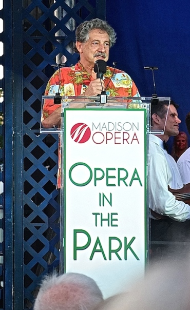 Opera in the Park 2014 Paul Soglin