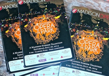 Opera in the Park 2014 programs