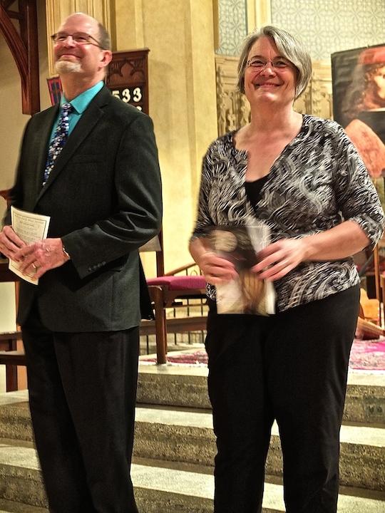 Paul Rowe, Cheryl Bensman Rowe MEMF 2014