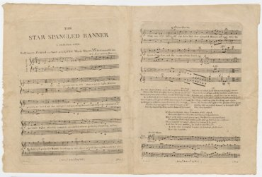Star-Spangled Banner first edition Clements Library University fo Michigan