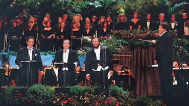 three tenors 1994 dodgers stadium