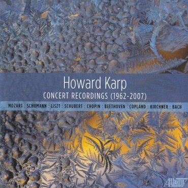 Howard Karp Albany CD cover