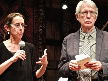 Judith Gordon and John Harbison 2014