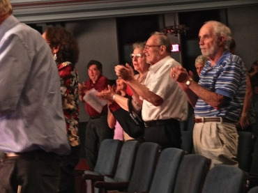 MAYCO Aug. 2014 audience applauds