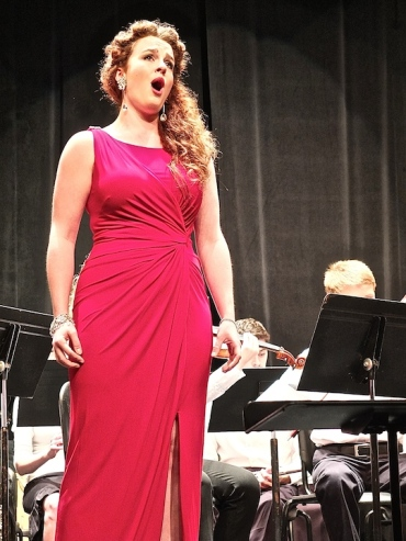MAYCO Aug. 2014 Caitlin Ruby Miller singing
