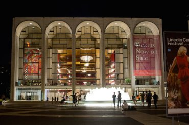 Metropolitan Opera outdoors use Victor J. Blue NYT