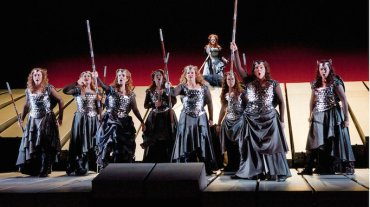 Metropolitan Opera quiz Valkyries Ken Howard The Met