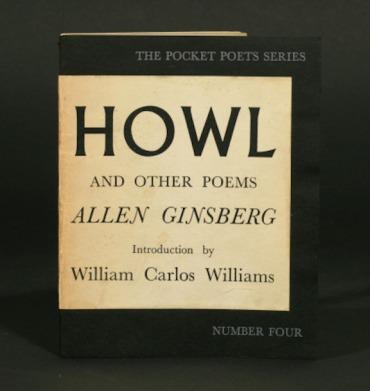 Allen Ginsberg Howl cover