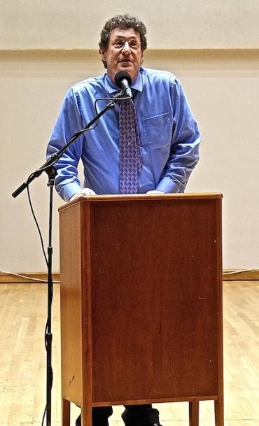 Karp Memorial Parry Karp speaks