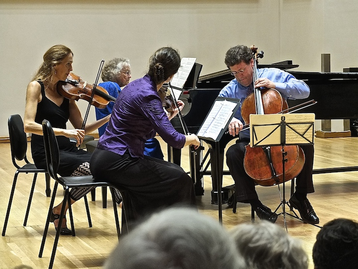 Karp Memorial Schumann PIano Quartet