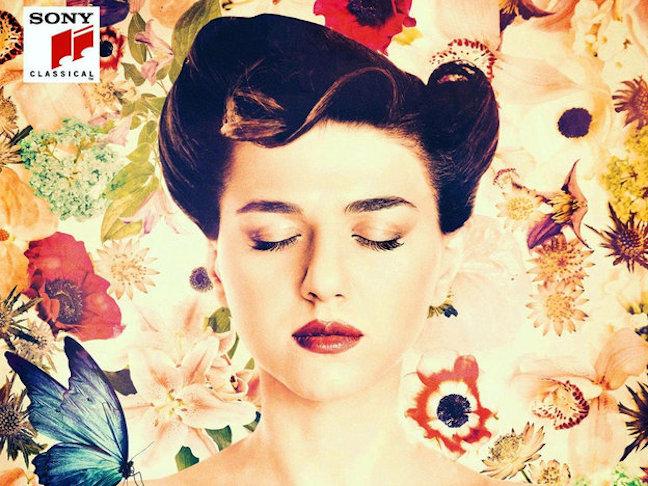 Khatia Buniatishvili's Motherland cover Sony Classical
