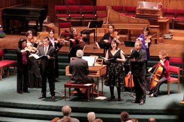 Madison Bach Musicians in Bach Cantata Dec. 2012