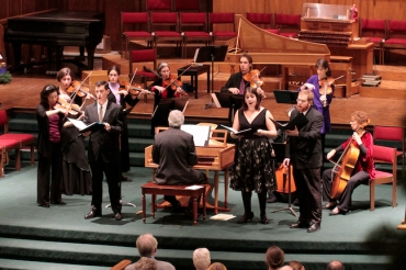 Madison Bach Musicians in Bach Cantata Dec. 2012