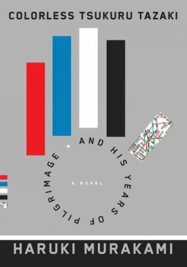Murakami Colorless Tsukuru Tazaki book cover