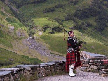 scotland bagpipes