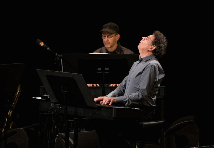 Steve Reich (left) and Philip Glass at BAM 2014 CR Chad Batka for NYT