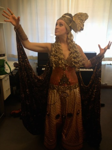 Brenda Rae Klinkert in costume