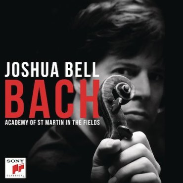 Joshua Bell Bach CD cover
