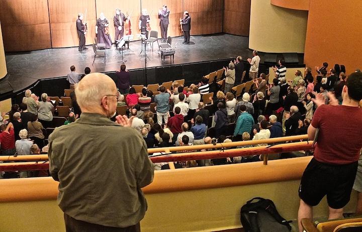PAQ Jalbert audience ovation