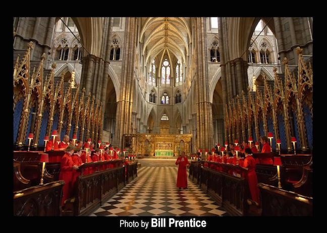 Westminster Abbey in abbey CR Bill Prentice