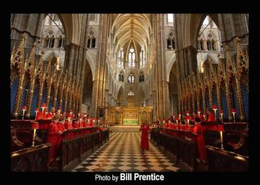Westminster Abbey in abbey CR Bill Prentice
