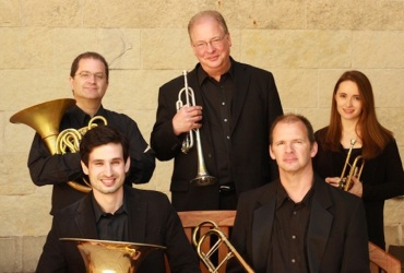 Wisconsin Brass Quintet 2014 CR Megan Aley