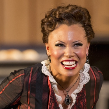 Alyson Cambdirge as Julia in Show-Boat