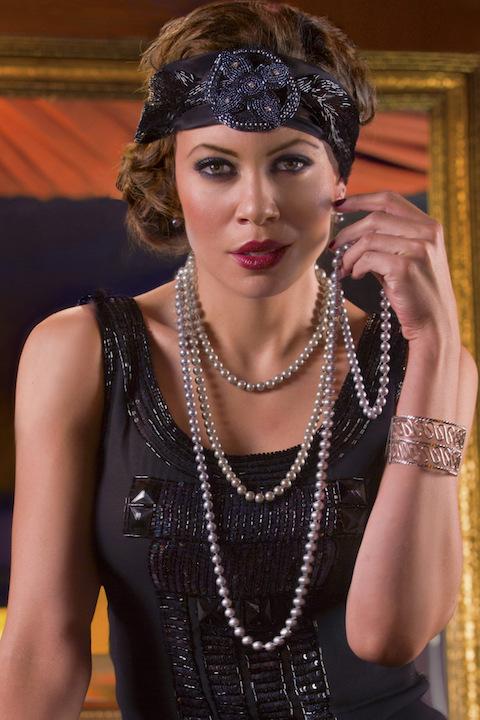 alyson cambridge as Vi in Gershwn's jazz opera Blue CR richard termine