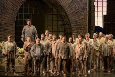 Fidelio prisoners' chorus James Gill