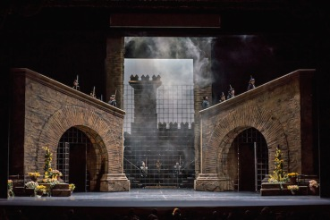 Fidelio Set John Grigaitis Michigan Opera Theatre