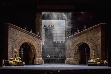 Fidelio Set John Grigaitis Michigan Opera Theatre