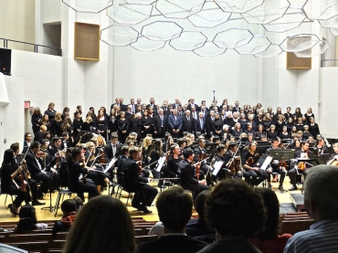 UW Choral Union and Symphony Nov. 2014