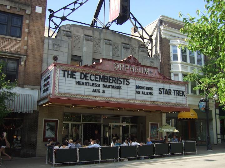 Orpheum Theatre Madison EXT