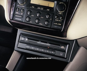 Honda in-dash CD player and changer