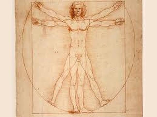 Leonardo da Vinci man