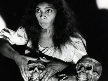 marian anderson in 1955 at Met  Verdi un ballo en maschera
