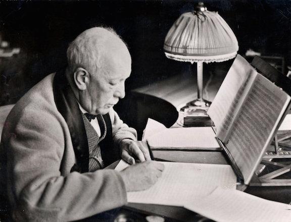 Richard Strauss  old CR H. Hoffmann Ulstein Biulderdienst