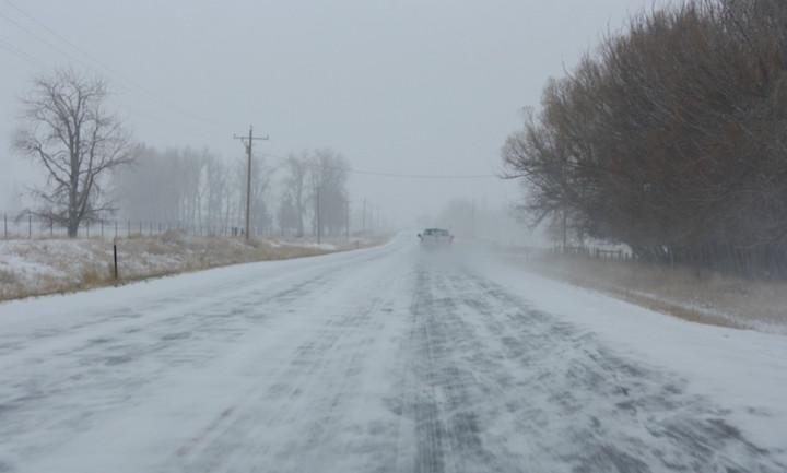 sub-zero weather
