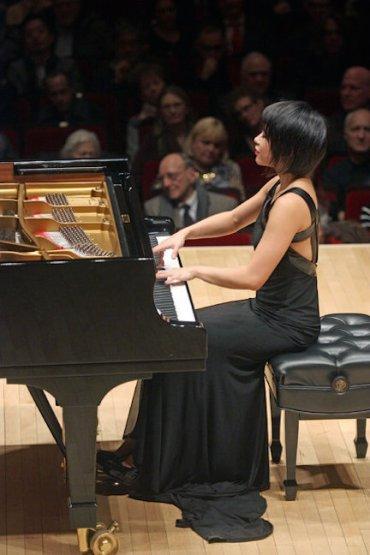 Yuja Wang at Carnegie Hall CR Hiroyuki Ito NYT