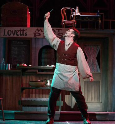 Corey Crider as Sweeney Todd   CR James Gill
