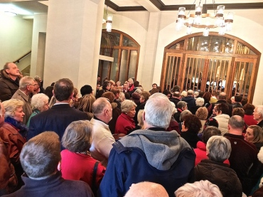 Crowd at 2015 Prism concert Luther Memorial