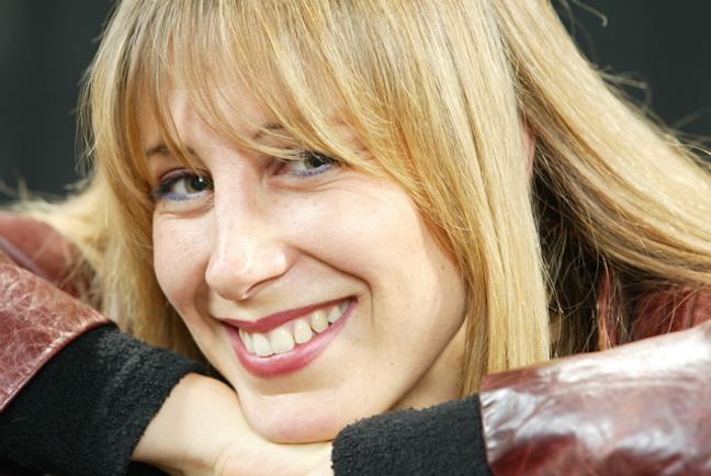 Ingrid Fliter close up