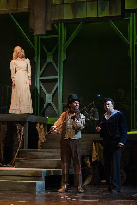 Seeney Todd  Jeni Houser as Johanna, Michael Etzwiler as Birdseller, Daniel Shirley as Anthony Hope GR James Gill