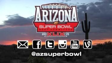 Super Bowl 49 social media logos