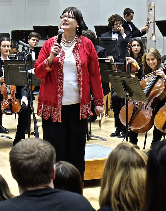 Susan Cook 1  at Concerto 2015
